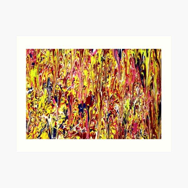 Cuadro abstracto de Jackson Pollock Lámina artística