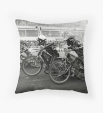 Speedway - Accelerating away Throw Pillow