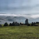 Castlerigg Stone Circle. by Lilian Marshall
