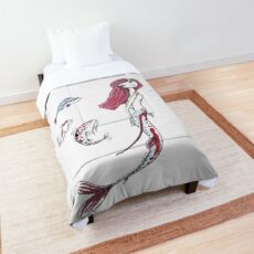 Koi Mermaid Comforter
