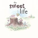 The Sweet Life whimsical watercolor by LeisureLane1