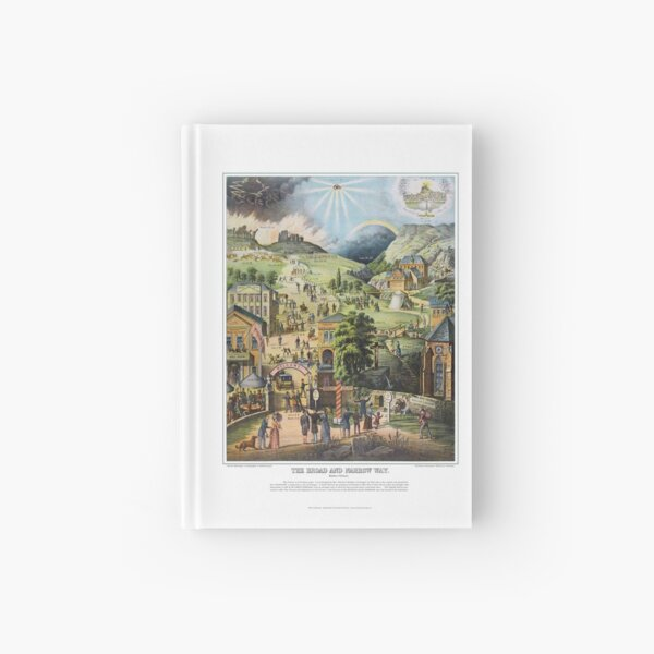 The Broad and Narrow Way Hardcover Journal