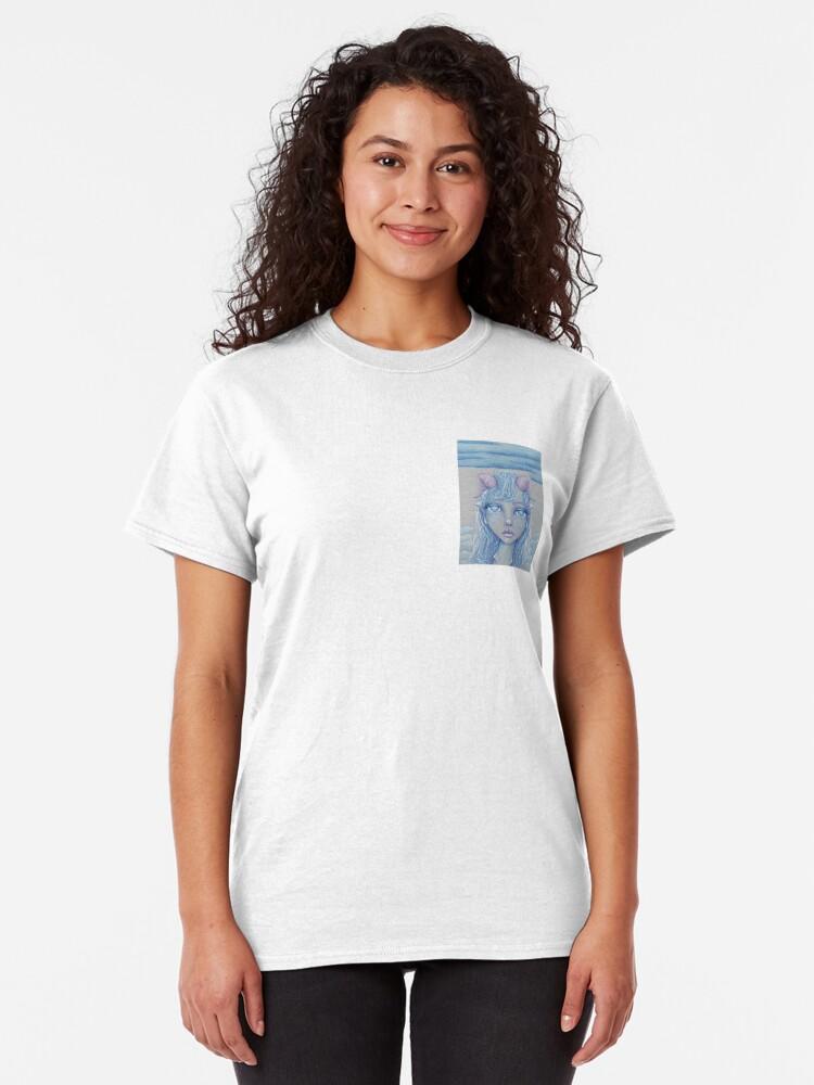 Alternate view of Mermaid of the Deep Classic T-Shirt