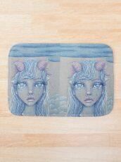 Mermaid of the Deep Bath Mat