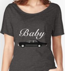 Supernatural Impala - Dean Winchester's Baby Women's Relaxed Fit T-Shirt