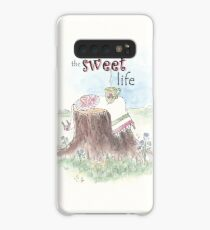 The Sweet Life whimsical watercolor Case/Skin for Samsung Galaxy