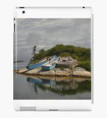 Boats Ashore Peggys Cove Nova Scotia iPad Case/Skin