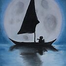 Moon Boat by Michaela Snyder