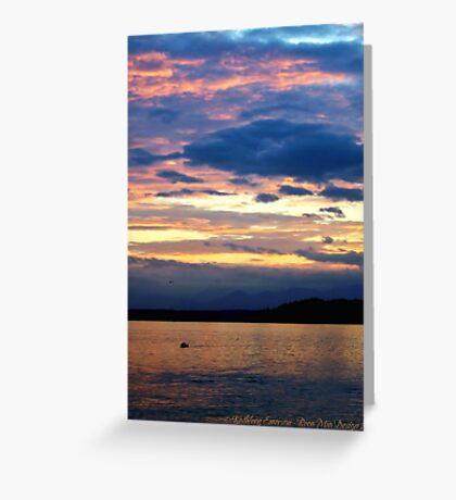 Sea of Tranquility Greeting Card