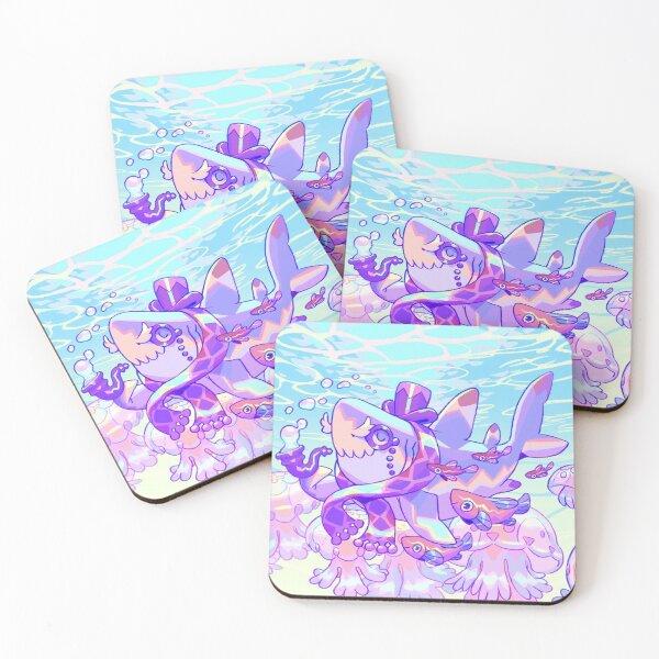 The Gentleshark Coasters (Set of 4)