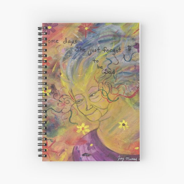 She Forget to Be Sad Spiral Notebook