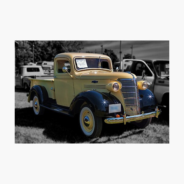 1938 Chevrolet Pickup Photographic Print