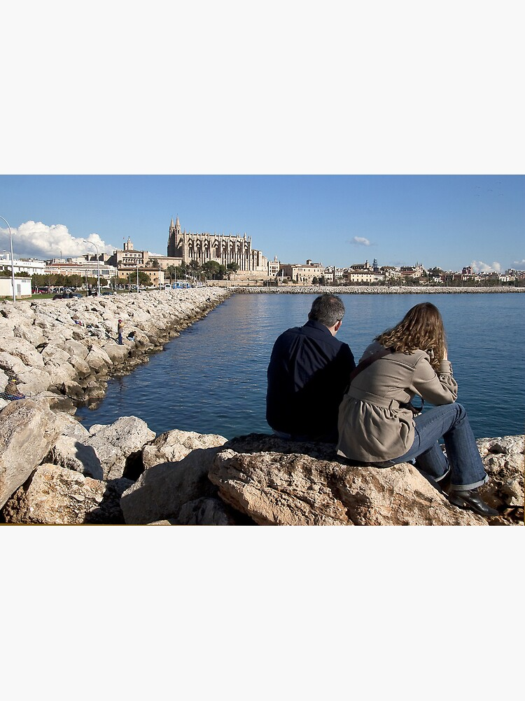 View of the Cathedral from a spot in Palma harbour by rogues70