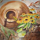 Cracked Pot & Brown Eyed Susan by ddonovan