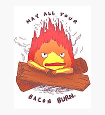 Curse of Calcifer Photographic Print