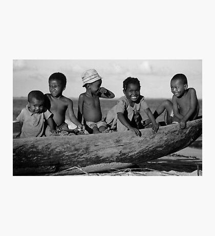 Future Sailors Photographic Print