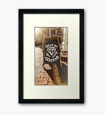 Urban Photography - Pink Floyd Framed Print