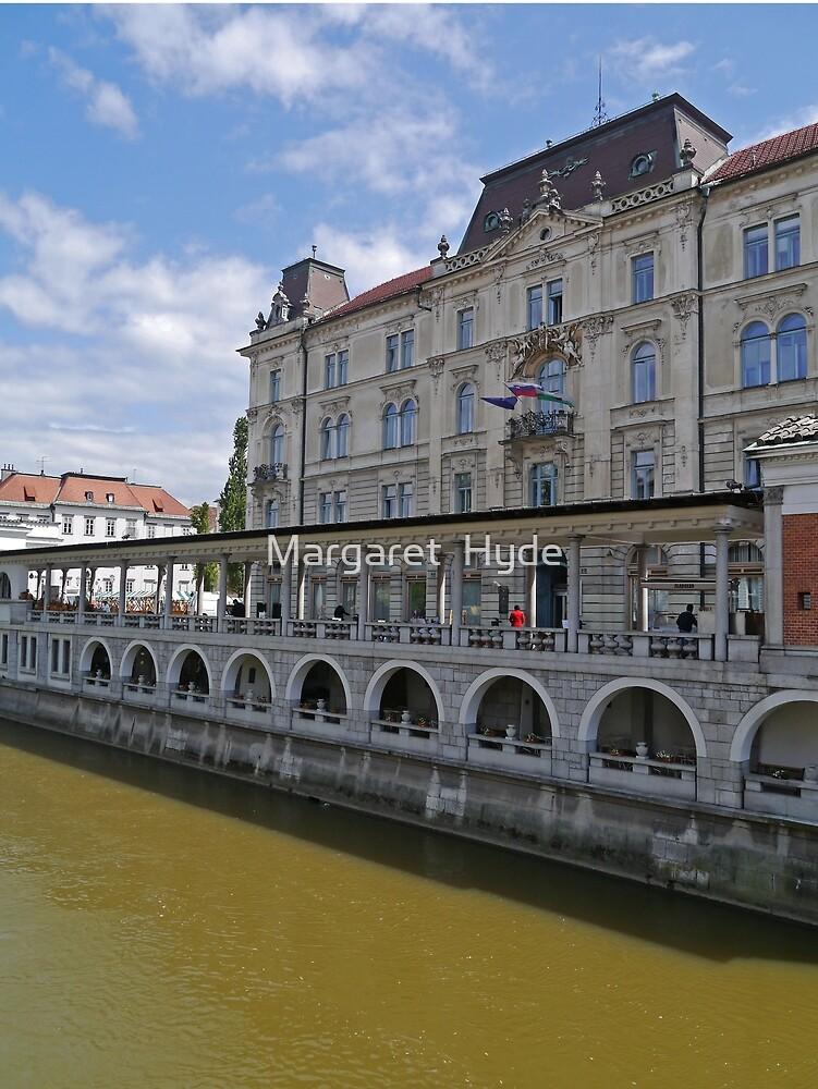 Kresija Palace, Ljubljana, Slovenia by Margaret  Hyde