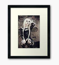 Gothic Pose Framed Print