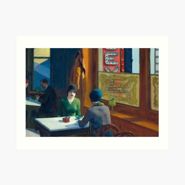 Chop Suey - Edward Hopper Art Print