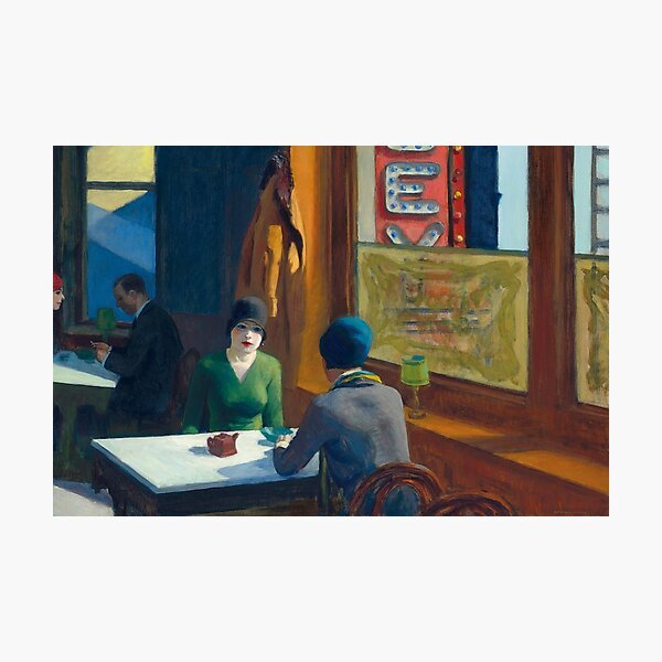 Chop Suey - Edward Hopper Photographic Print