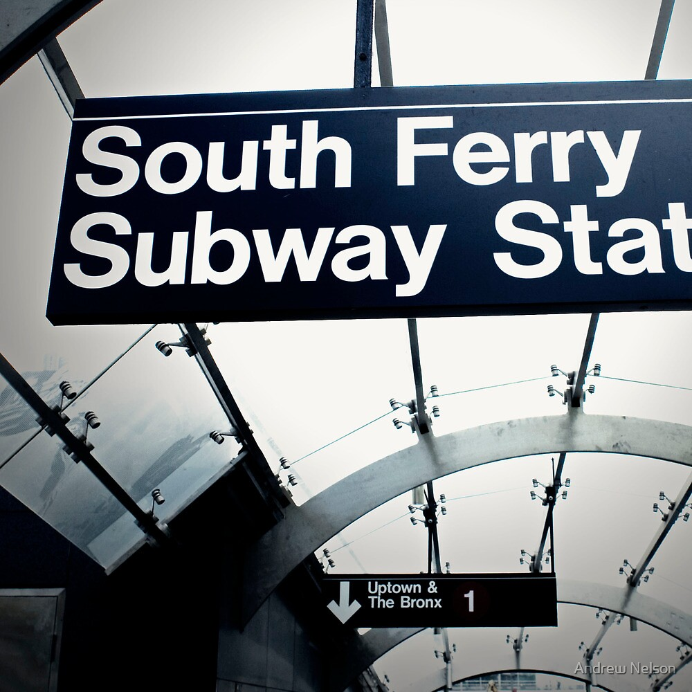 South Ferry Subway by Andrew Nelson