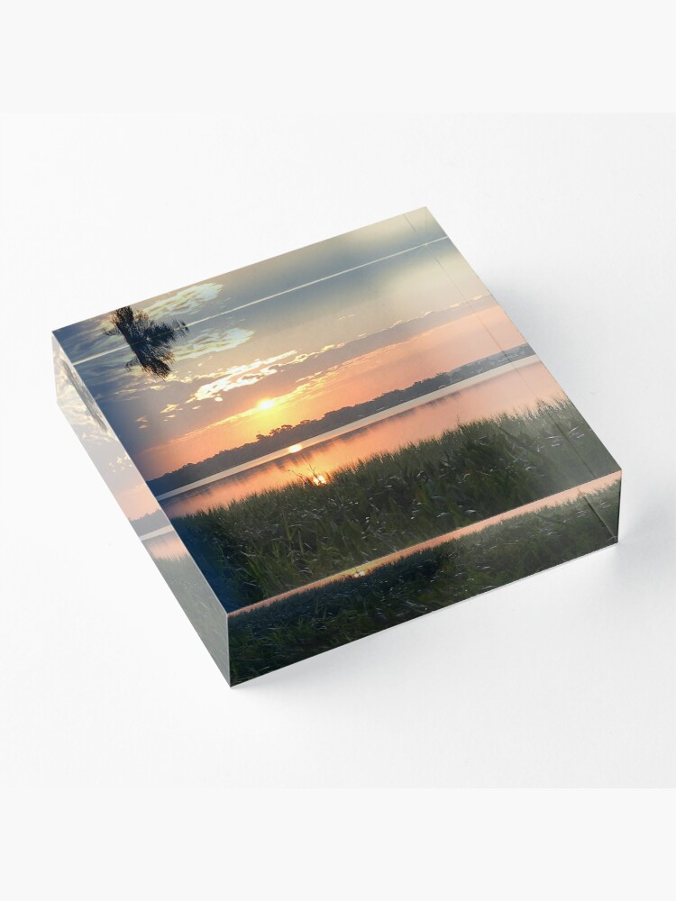 Alternate view of Florida morning Acrylic Block