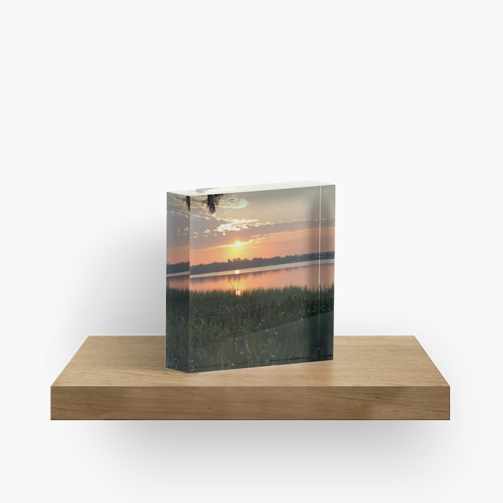 Florida morning Acrylic Block