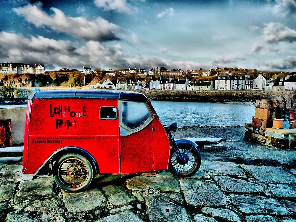 """"""" Lighthouse Pottery """" Portpatrick by derekbeattie"""