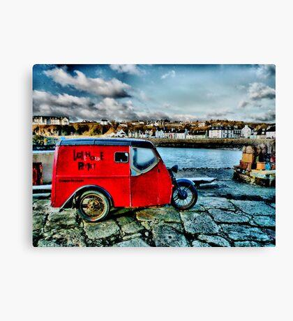 """"""" Lighthouse Pottery """" Portpatrick Canvas Print"""