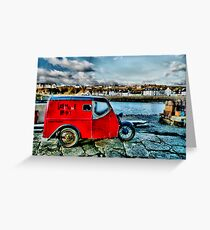 """ Lighthouse Pottery "" Portpatrick Greeting Card"