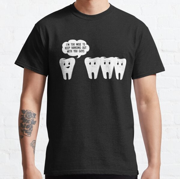 Too wise Math Teacher Science School Professor Classic T-Shirt