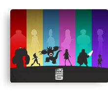 The Big Hero 6 Canvas Print