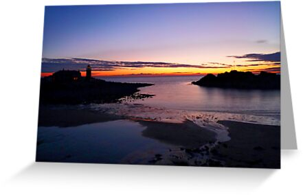 Sunset Portpatrick Harbour by derekbeattie