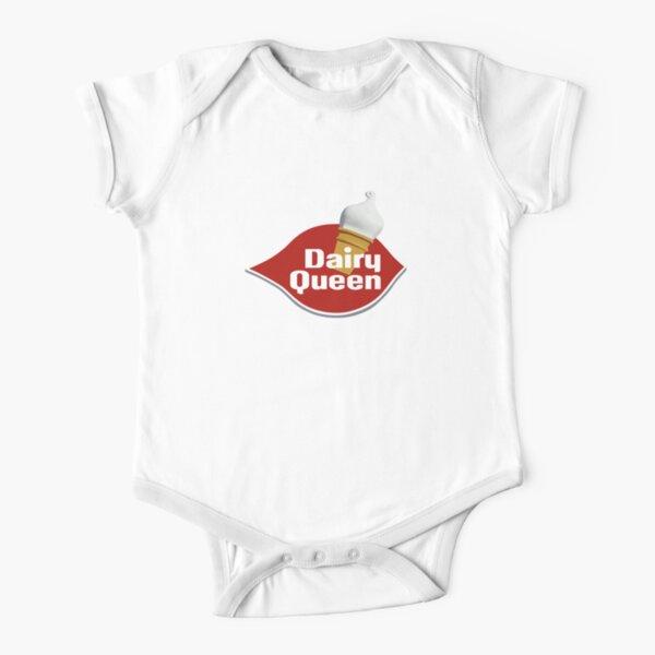DAIRY QUEEN Short Sleeve Baby One-Piece