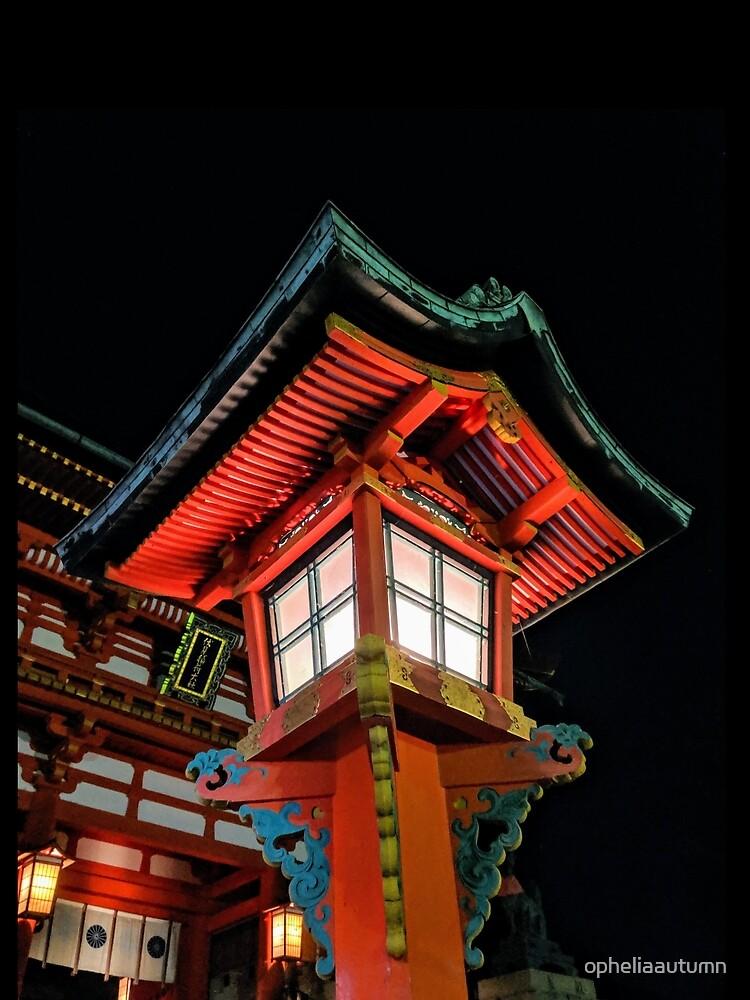 Lantern in Fushimi Inari, Kyoto by opheliaautumn