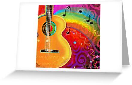 Musical Fantasy Painting SXSW festival Svetlana Novikova by Svetlana  Novikova