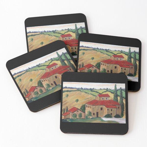 Tuscany Coasters (Set of 4)
