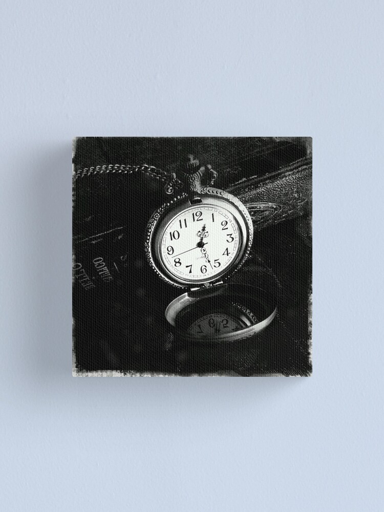 Alternate view of Time Piece Canvas Print