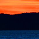 Cave Run Lake Sunset by Kent Nickell