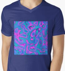 Abstraction V-Neck T-Shirt