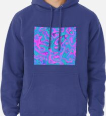 Abstraction Pullover Hoodie