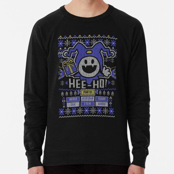 Ugly Christmas Sweater Jack Frost Lightweight Sweatshirt