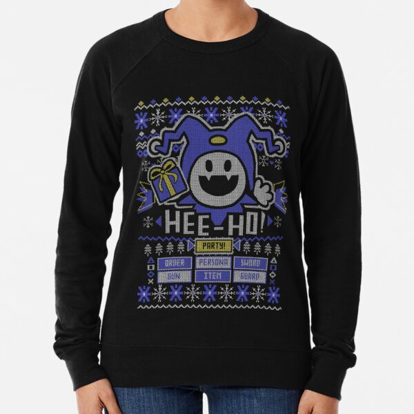 Ugly Christmas Sweater Jack Frost Lightweight Sweatshirt