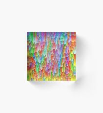 Abstraction Acrylic Block