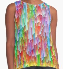 Abstraction Sleeveless Top
