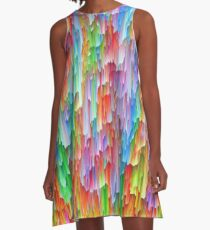Abstraction A-Line Dress