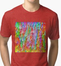 Abstraction Tri-blend T-Shirt