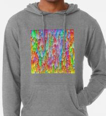 Abstraction Lightweight Hoodie