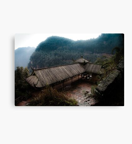 bamboo sea .. Canvas Print